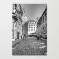 Dresdener Ansichten Canvas Print