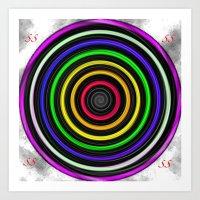 Sacred-Symmetry: Tunnel … Art Print