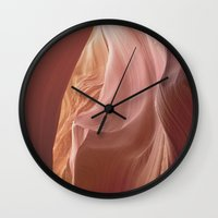 Antelope Canyon 1 Wall Clock