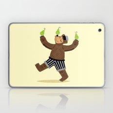 A Bear With Pears Laptop & iPad Skin