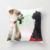 The look... Throw Pillow