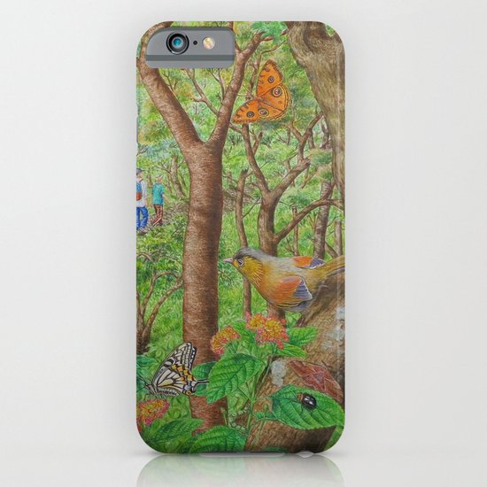 A Day of Forest (1). (walk into the forest) iPhone & iPod Case