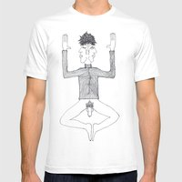 2face Mens Fitted Tee White SMALL