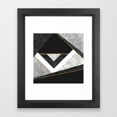 Lines & Layers 2 Framed Art Print