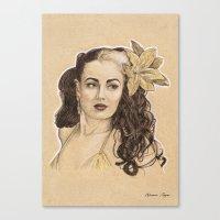 Missy Malone Canvas Print