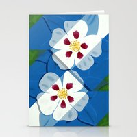 Columbines Stationery Cards