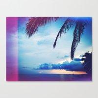 Hawaii Is Home Canvas Print