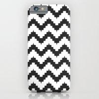 Funky Chevron - Black iPhone 6 Slim Case