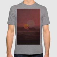untitled 16 Mens Fitted Tee Athletic Grey SMALL