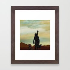 new sky Framed Art Print
