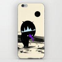 Man On The Moon iPhone & iPod Skin