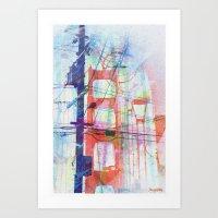 Magic Electric Golden Ga… Art Print