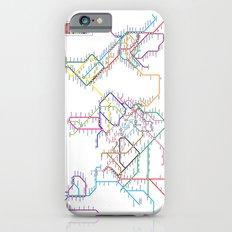World Metro Subway Map iPhone 6 Slim Case