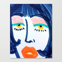 Mod Girl Canvas Print