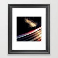 Technics Framed Art Print