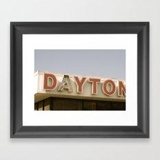 Daytona Framed Art Print