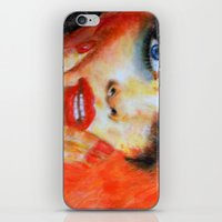 Title: Pastel Portrait -… iPhone & iPod Skin
