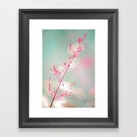 Pink Haze Framed Art Print