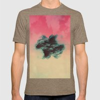 dissipate Mens Fitted Tee Tri-Coffee SMALL