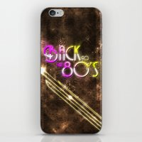 Back To The 80's iPhone & iPod Skin