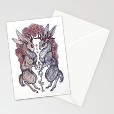 Rare Hearts Stationery Cards