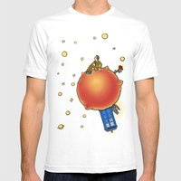 The Prince And The Rose Mens Fitted Tee White SMALL