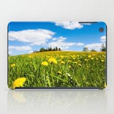 Dandelion field iPad Case