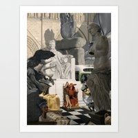 Carmen Sandiego Art Print