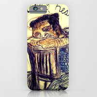 iPhone & iPod Case featuring Heavy Head by Shane R. Murphy