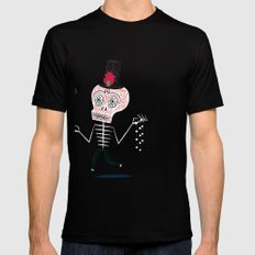 The Halloween Series - The Voodoo That You Do SMALL Mens Fitted Tee Black