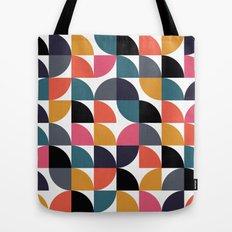 Quarter pattern Tote Bag