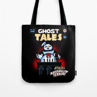 Marshmallow Terror Tote Bag