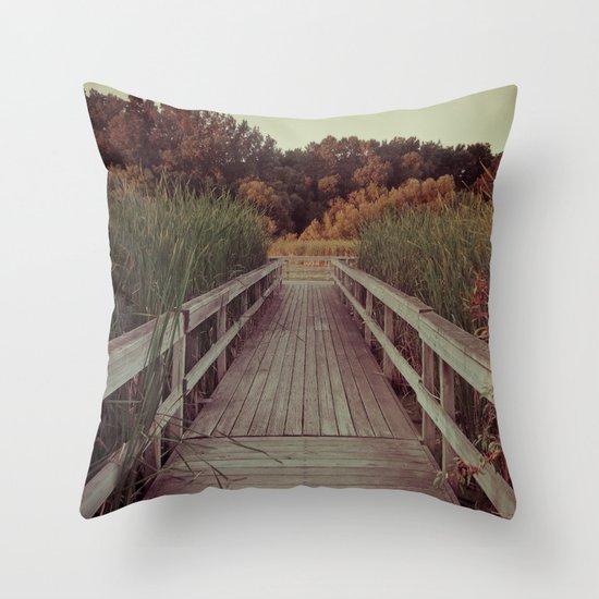 Our Youth is Fleeting, Old Age is Just Around the Bend. Throw Pillow