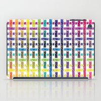 Stripes In Colours iPad Case