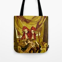 The Conjoined Twins in the Museum of Monstrosities  Tote Bag