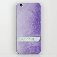 Grape Frost iPhone & iPod Skin