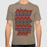 Pretty Mens Fitted Tee Tri-Coffee SMALL
