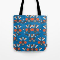 Tribal Terror Tote Bag