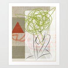 Zoe Art Print