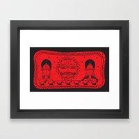 Surya- Sun Framed Art Print