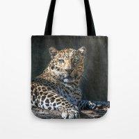 Leopard Alert Tote Bag