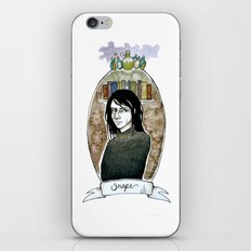 snape iPhone & iPod Skin