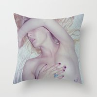 Late Nights. Throw Pillow