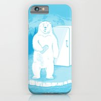 iPhone & iPod Case featuring Save the polar bears, make more ice cubes. by Lucas Scialabba :: Palitosci