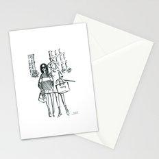 Brush Pen Fashion Illustration - Friends Stationery Cards