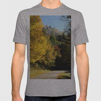 Down this road Mens Fitted Tee Athletic Grey SMALL