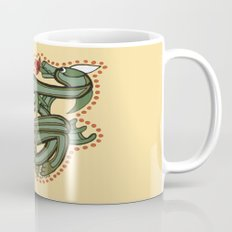 Celtic Dragon Letter T Mug