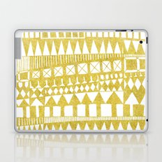 Golden Doodle abstract Laptop & iPad Skin