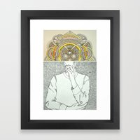 Thought Bubble Framed Art Print