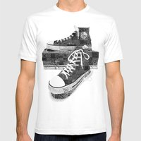 Get Chucked Mens Fitted Tee White SMALL